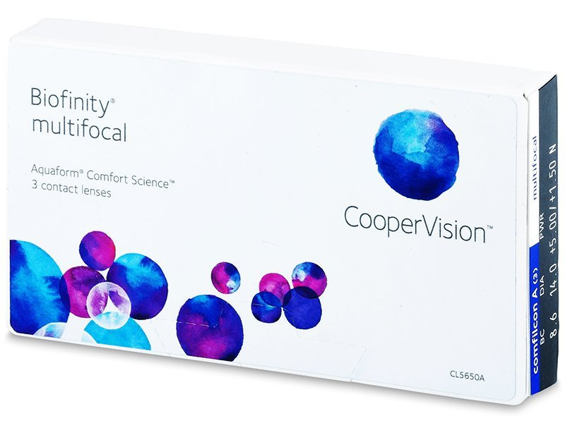 Biofinity Multifocal (3lęšiai)