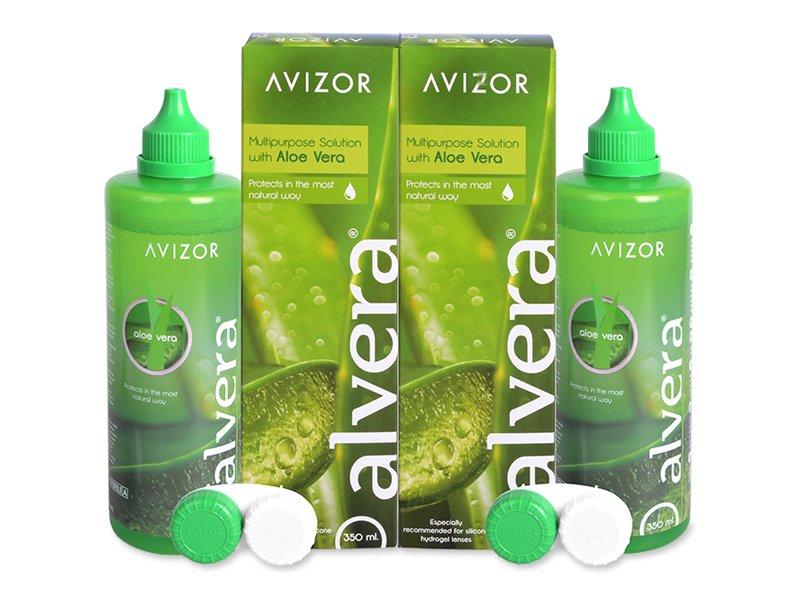 Valomasis tirpalas Alvera 2 x 350 ml pakuotė
