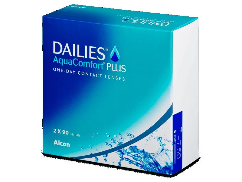 Dailies AquaComfort Plus (180lęšių)
