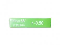 Clear 58 (6lęšiai)