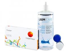 Proclear Sphere (6lęšiai) +valomasis tirpalas Laim-Care400 ml