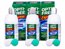 Valomasis tirpalas Opti-Free Express 3x355ml