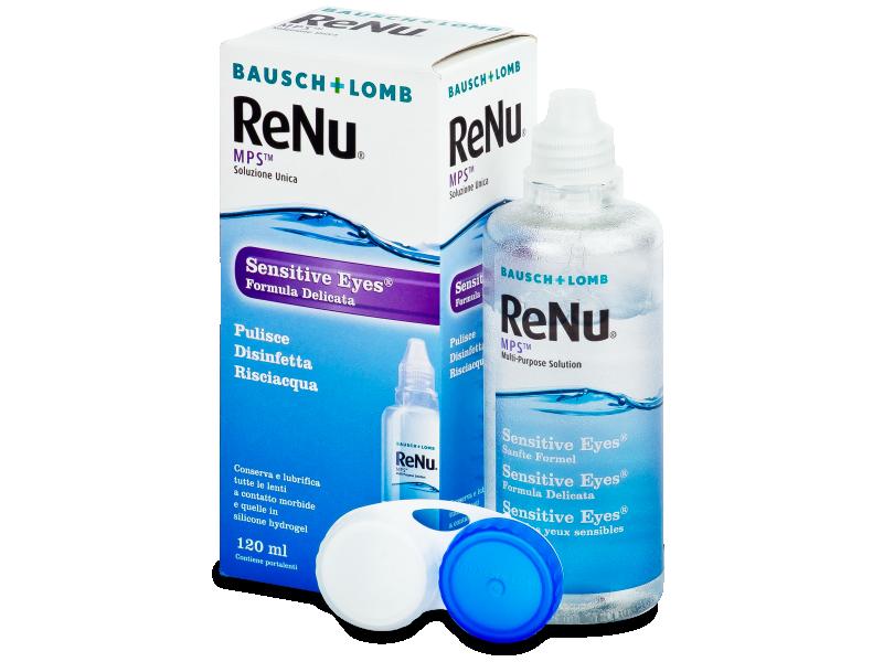 Valomasis tirpalas ReNu MPS Sensitive Eyes 120 ml
