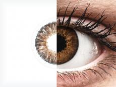 Air Optix Colors - Brown - be dioptrijų (2 lęšiai)