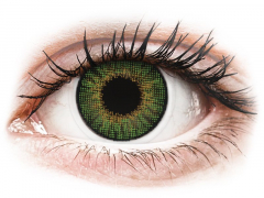 Air Optix Colors - Green - su dioptrijomis (2 lęšiai)
