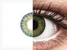 Air Optix Colors - Green - be dioptrijų (2 lęšiai)