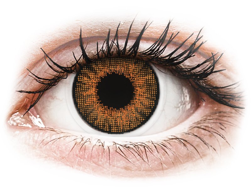 Air Optix Colors - Honey - su dioptrijomis (2 lęšiai)