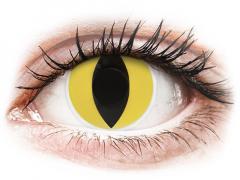 ColourVUE Crazy Lens - Cat Eye - be dioptrijų (2 lęšiai)