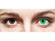 ColourVUE Crazy Lens - Emerald (Green) - be dioptrijų (2 lęšiai)