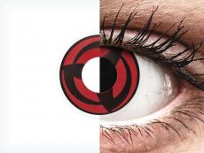 ColourVUE Crazy Lens - Kakashi - be dioptrijų (2 lęšiai)
