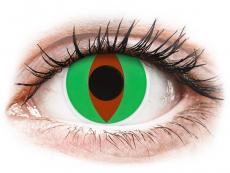 ColourVUE Crazy Lens - Raptor - be dioptrijų (2 lęšiai)