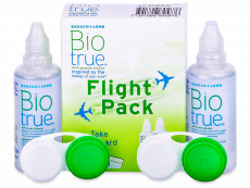 Valomasis tirpalas Biotrue Flight Pack 2 x 60 ml