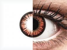 ColourVUE Crazy Lens - Vampire - be dioptrijų (2 lęšiai)
