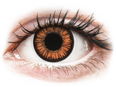 ColourVUE Crazy Lens - Twilight - su dioptrijomis (2 lęšiai)