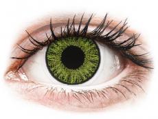 TopVue Color daily - Fresh green - su dioptrijomis (10 lęšių)