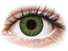 TopVue Color daily - Green - su dioptrijomis (10 lęšių)