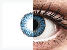 TopVue Color daily - Sapphire Blue - be dioptrijų (10 lęšių)