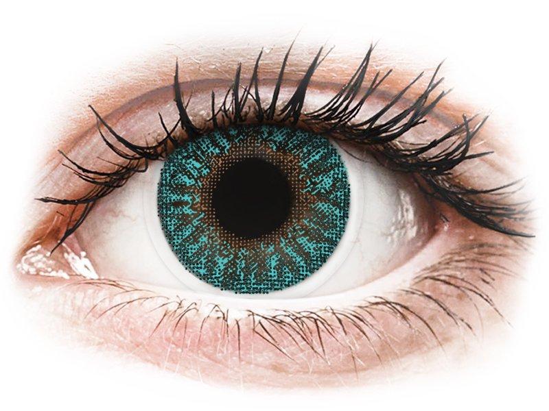TopVue Color - Turquoise - be dioptrijų (2 lęšiai)