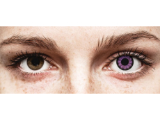 ColourVUE BigEyes Ultra Violet - be dioptrijų (2 lęšiai)
