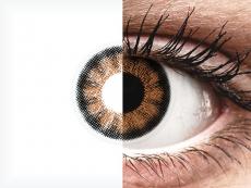 ColourVUE BigEyes Sexy Brown - be dioptrijų (2 lęšiai)