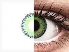 ColourVUE Fusion Green Yellow - su dioptrijomis (2 lęšiai)