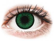 SofLens Natural Colors Emerald - be dioptrijų (2 lęšiai)