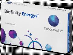Biofinity Energys (3 lęšiai)