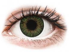 FreshLook ColorBlends Gemstone Green - su dioptrijomis (2 lęšiai)