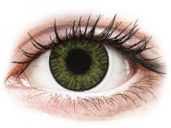 FreshLook ColorBlends Green - su dioptrijomis (2 lęšiai)