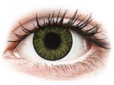 FreshLook ColorBlends Green - be dioptrijų (2 lęšiai)
