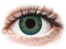 FreshLook ColorBlends Turquoise - su dioptrijomis (2 lęšiai)