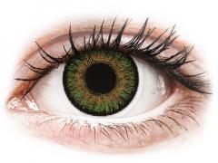 FreshLook One Day Color Green - su dioptrijomis (10 lęšių)