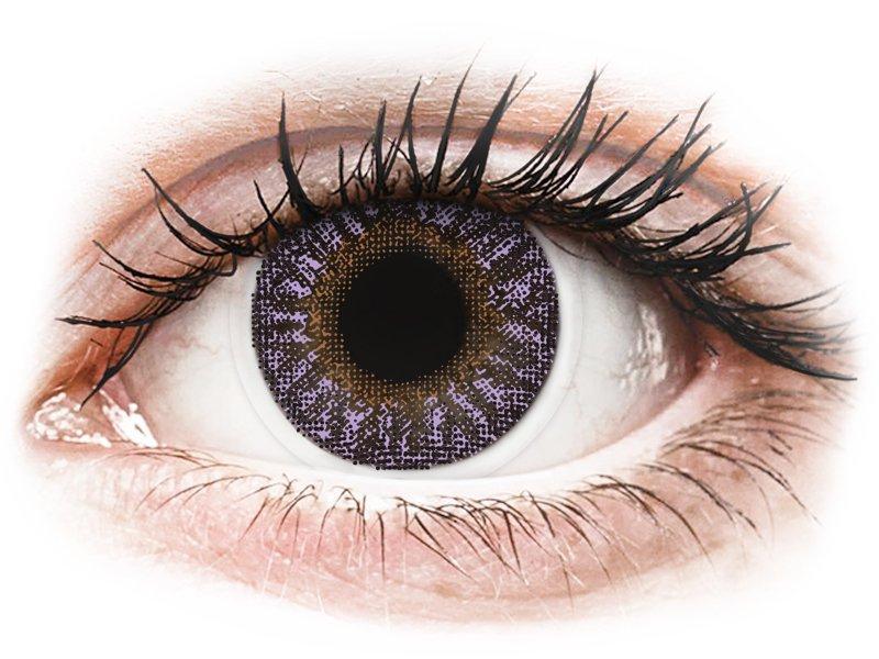 TopVue Color - Violet - be dioptrijų (2 lęšiai)