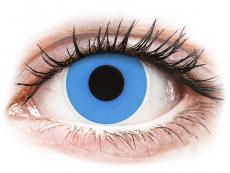 ColourVUE Crazy Lens - Sky Blue - vienadieniai be dioptrijų (2 lęšiai)