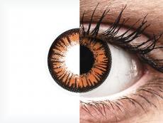 ColourVUE Crazy Lens - Twilight - vienadieniai be dioptrijų (2 lęšiai)