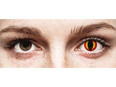 ColourVUE Crazy Lens - Dragon Eyes - vienadieniai be dioptrijų (2 lęšiai)