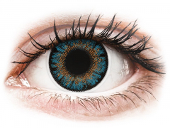ColourVue One Day TruBlends Blue - su dioptrijomis (10 lęšių)