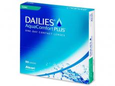 Dailies AquaComfort Plus Toric (90lęšių)