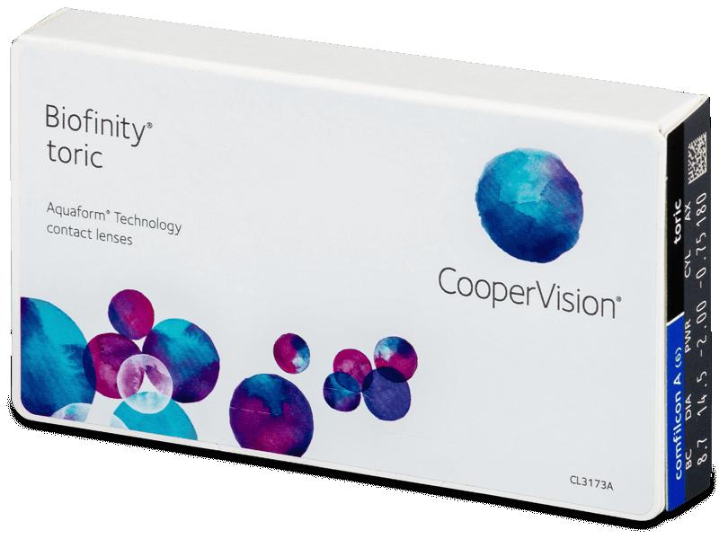 Biofinity Toric (6lęšiai)