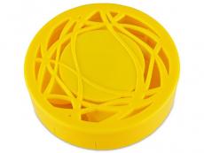 Viskas viename lęšių rinkinukas su ornamentais (geltonas)