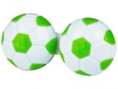 """Lęšių dėkliukas """"Futbolo kamuolys"""" (žalias)"""