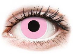 ColourVUE Crazy Lens - Barbie Pink - be dioptrijų (2 lęšiai)