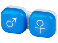 """Lęšių dėkliukas """"Vyras ir moteris"""" (mėlynas)"""