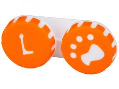 """Lęšių dėkliukas """"Letena"""" (oranžinis)"""