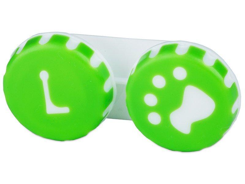 """Lęšių dėkliukas """"Letena"""" (žalias)"""