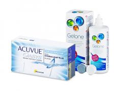 Acuvue Oasys for Astigmatism (12 lęšių) + valomasis tirpalas Gelone 360 ml