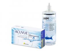 Acuvue Oasys for Astigmatism (12 lęšių) + valomasis tirpalas Laim-Care 400 ml