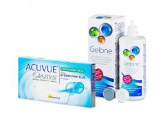 Acuvue Oasys for Presbyopia (6 lęšiai) + valomasis tirpalas Gelone 360 ml