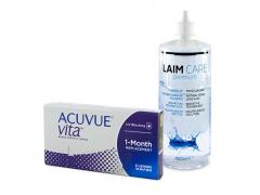 Acuvue Vita (6 lęšiai) + valomasis tirpalas Laim-Care 400 ml