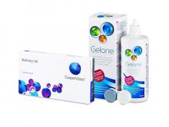Biofinity XR (3 lęšiai) + valomasis tirpalas Gelone 360 ml